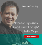 good is not enough